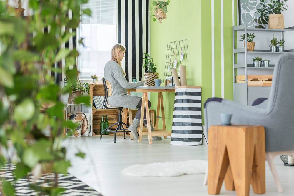 Greenery, el Color del Momento en Decoración
