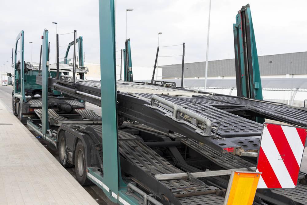 Transporte de vehículos de importación