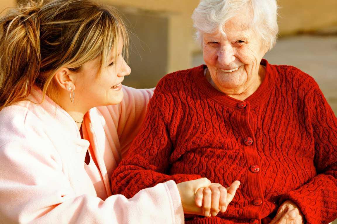 El cuidado de una persona enferma en casa