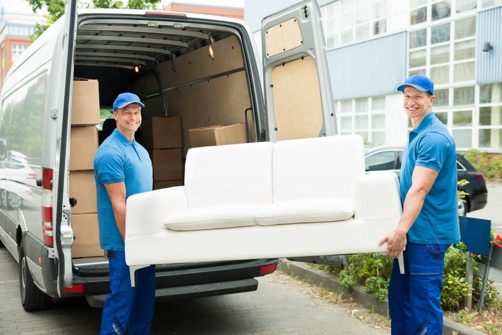 El transporte de muebles actualmente